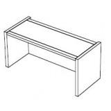 EBL Softline Desk system shelf  for module A starter