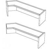 EBL Softline Desk system shelf  for module H  addon