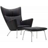 FBB Series CH445 Lounge Chair ottoman  Cashmere