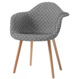 CF Series Eames (DAW inspired) Upholstered dk12 chair
