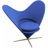 FBB Series Heart Shaped Cone Chair Cashmere