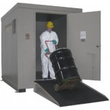F-ANC Outdoor HazMat Storage Enclosure 12drum