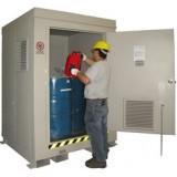 F-ANC Outdoor HazMat Storage Enclosure 4drum