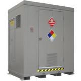 F-ANC Outdoor HazMat Storage Enclosure 6drum