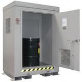 F-ANC Outdoor HazMat Storage Enclosure 2drum