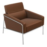 FCC Series Arne Jacobsen 3300 Armchair technoleather