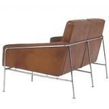 FCC Series Arne Jacobsen 3300 2 seater Sofa leather