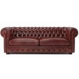 FCC Series Sir William 3 seater sofa leather