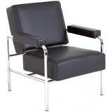 FCC Series LC13 Wagon Fumoir Armchair leather
