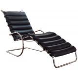 FCC Series Mr Adjustable Chaise Longue leather