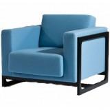 FCC Series Sean Dix Wooden Frame Armchair fabric