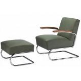 FCC Series Thonet S411 Armchair + stool fabric