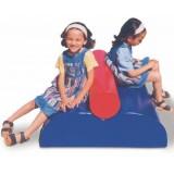 ΣΕΙΡΑ FG NURSERY  - FGN0C33. Παιδικό σετ τούνελ με μορφή τρένου, από πλ