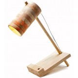 Simple Wooden Table Lamp