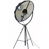 FORTUNY Petite LED Floor Lamp (black frame)