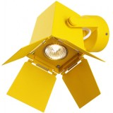 Zero, Foto Yellow, Spot Halogen light (wall / ceiling fixture)