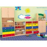 Nursery Series Colorful cabinet elephant.
