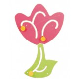 "Nursery Series Απλίκα σε σχήμα ""λουλουδιού"". Διαστάσεις: Π390 x"