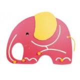 "Nursery Series Απλίκα σε σχήμα ""ελέφαντα"". Διαστάσεις: Π880 x Υ700 χι&lam"