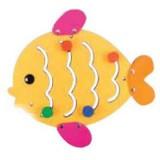 "Nursery Series Απλίκα σε σχήμα ""ψαριού"". Διαστάσεις: Π560 x Υ520 χιλ."