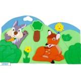 "Nursery Series Επένδυση με θέμα ""δάσος"""