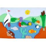 "Nursery Series Επένδυση με θέμα ""λίμνη"""