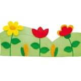 "Nursery Series Επένδυση με θέμα ""λιβάδι / Meadow"". Διαστάσεις: Π1710 x Υ710 χι&l"