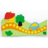"Nursery Series Επένδυση με θέμα ""δρόμος με δένδρο"""