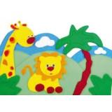 "Nursery Series Επένδυση με θέμα ""ζωολογικός κήπος / Zoo"""