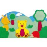 "Nursery Series Επένδυση με θέμα ""Δάσος / forest"""