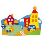 "Nursery Series Επένδυση με θέμα ""πόλη / city"""