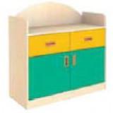 Nursery Series SANLANDIA D094205-0-00-05   Σταθερό Ερμάριο.  Άνω επιφάνεια χρηστική. Κατ&