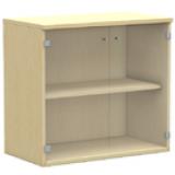 NWS Easy Series Glass Door Cabinet H825, W800
