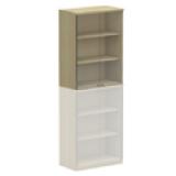 NWS Easy Series Glass Door Upper Cabinet H1070, W800