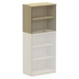 NWS Easy Series Glass Door Upper Cabinet H740, W800