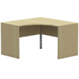 NWS Easy Series L-shape w/slab end legs, 1200x1200W x 600D x 720H