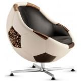 PL Soccer Africa Armchair (L) + ottoman (L)