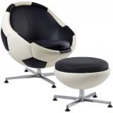 PL Soccer Armchair (L) + ottoman (L)