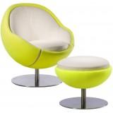 PL Tennis Armchair (L) + ottoman (L)