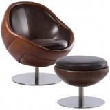 PL Wembley Armchair (L) + ottoman (L)