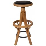 RICN Series Stool MRI-3737 Wood