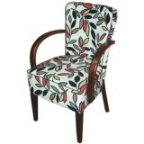 RICN Series Wood Armchair V (up411)