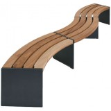 S-DW Series Binga Curved bench