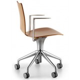 Sellex series Talle chair on castors with arms