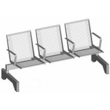 S-ER Series Topsit Wire Mesh 3 seater