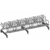 S-ER Series Topsit Wire Mesh 5+5 seater
