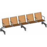 S-ER Series Topsit Pagwood 5 seater