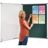 Wall mounted non illuminated Tamperproof Noticeboard 600x900H