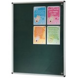 Wall mounted non illuminated Tamperproof Noticeboard 900x900H
