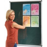 Wall mounted non illuminated Tamperproof Noticeboard 900x1200H
